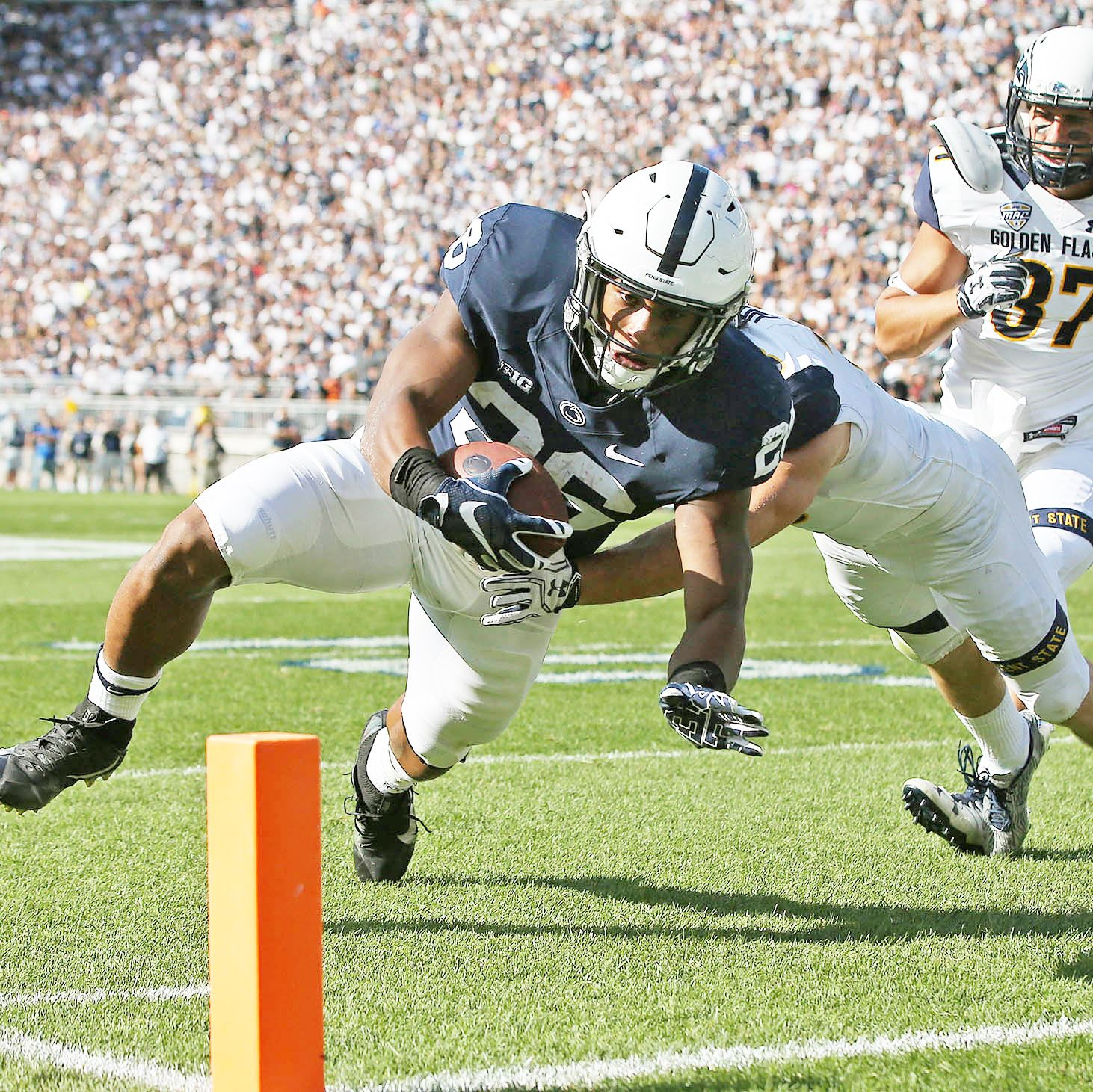 Penn State races to win over Purdue behind Saquon Barkley