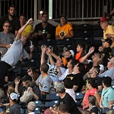 Pirates fans still go all out for foul balls, but the thrill of a playoff chase is sliding away.