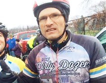 Prominent Pittsburgh bicyclist Danny Chew, founder of the Dirty Dozen bike race, was paralyzed in a bike accident in Ohio during the weekend, according to friends and family.
