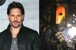"Joe Manganiello, left, confirms he will play the DC villain Deathstroke in Ben Affleck's upcoming ""Batman"" reboot. Manu Bennett, right, portrayed Deathstroke in The CW series ""Arrow."""