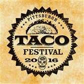 The logo for the first Pittsburgh Taco Festival.