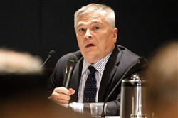 Penn State University President Eric Barron received a $224,000 bonus last fiscal year, bringing his total earnings to more than $1 million.