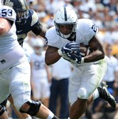 Penn State's Saquon Barkley scored five touchdowns in the loss against Pitt.