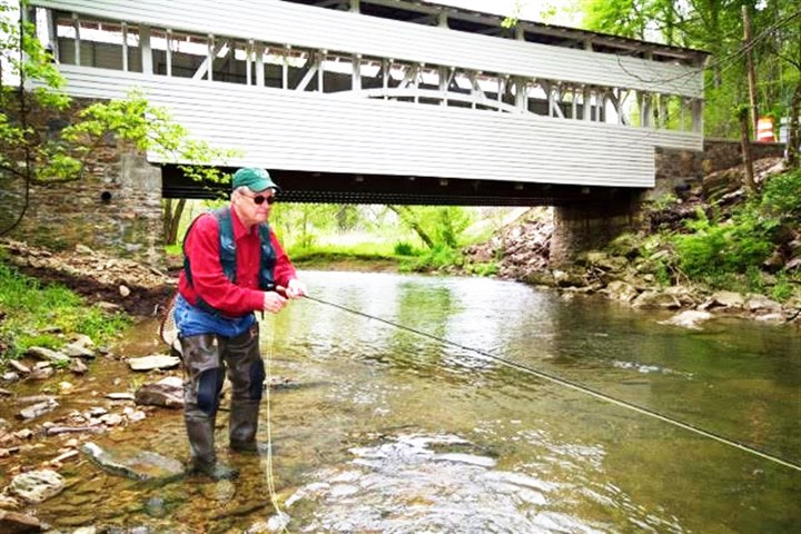 Fly fishing pennsylvania new book explains how to find it for Fly fishing pa