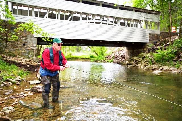 Fly fishing pennsylvania new book explains how to find it for Fishing in pittsburgh