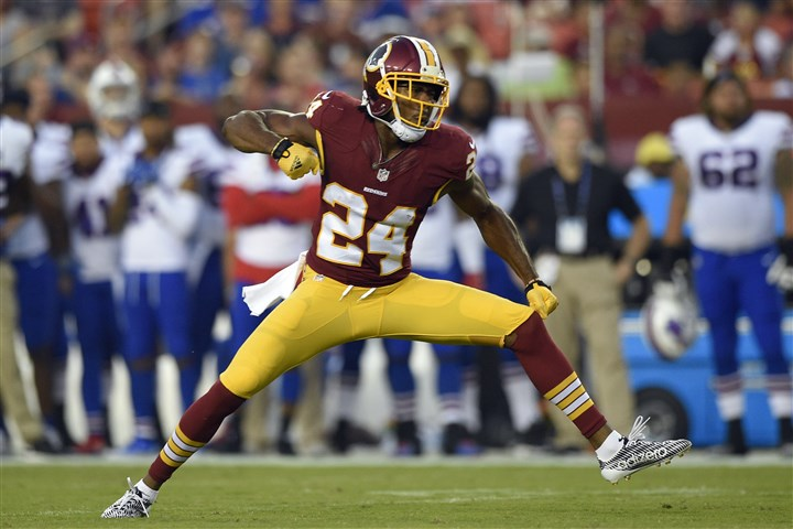 norman22l Washington's Josh Norman will be the first this seasonto challenge the Steelers' dynamic duo of quarterback Ben Roethlisberger and receiver Antonio Brown.