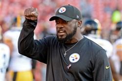 Steelers head coach Mike Tomlin