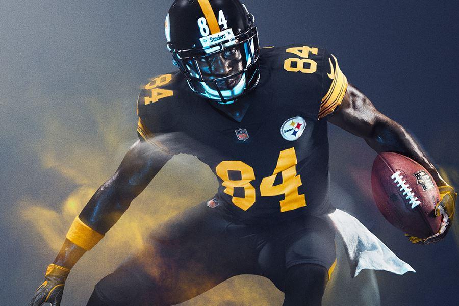 Steelers New Uniforms