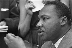 The Rev. Martin Luther King Jr.
