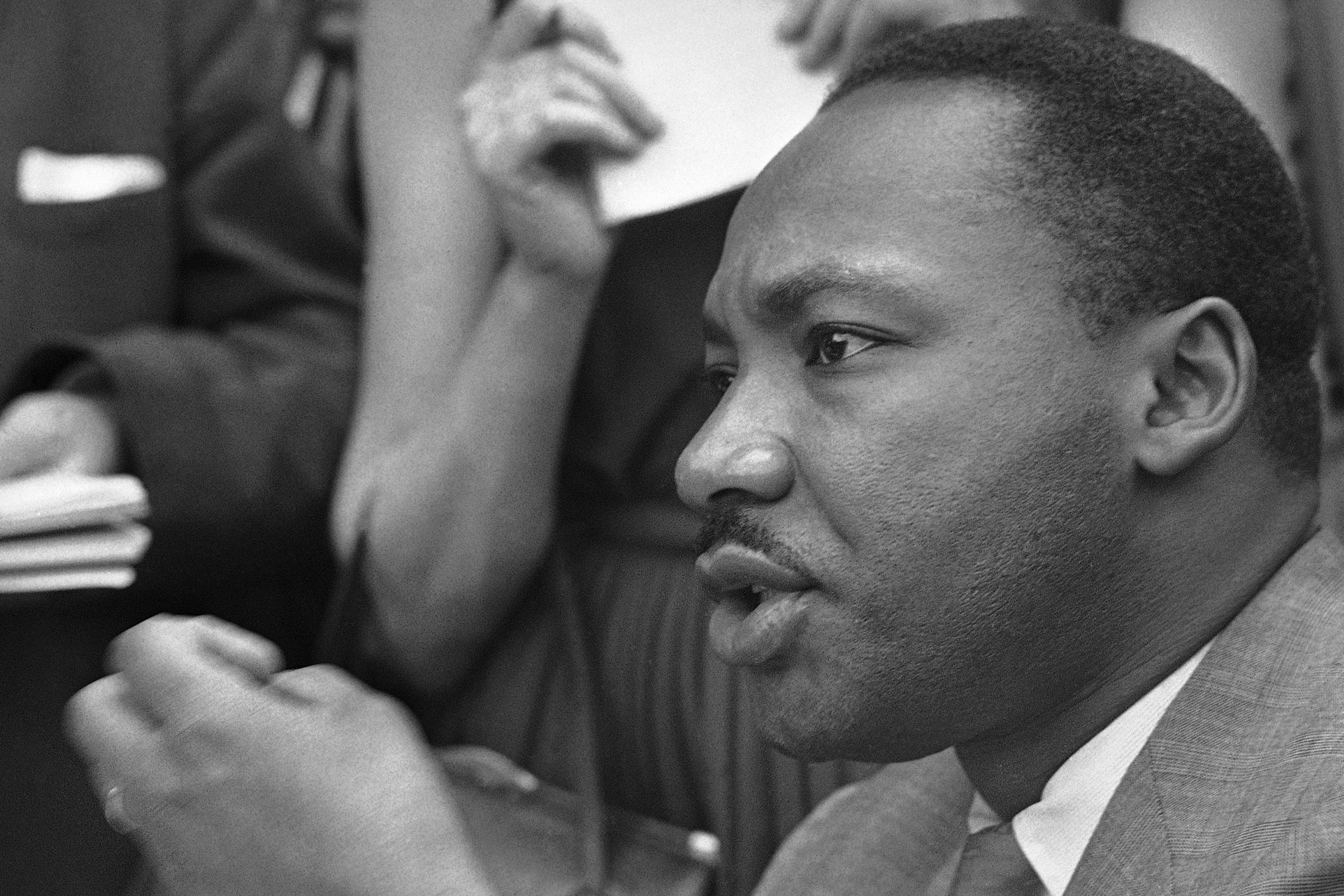 sat essay martin luther king jr View essay - sat essay 2 from science apes at panther creek high in his powerful speech, martin luther king jr explains the negative impacts of including american.
