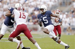 DaeSean Hamilton has emerged as a leader for Penn State.