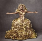 "Uzo Aduba starred as Glinda in NBC's ""The Wiz Live!"" Costumes from the production will be on display at the August Wilson Center for African American Culture Sept. 23-Nov. 30."