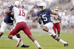 Penn State on Thursday debuted an alternate uniform that looks a lot like its traditional jerseys.