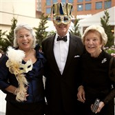 From left, Gala honorary chairs, Ann and Chris Donahue with Ginny Simmons.