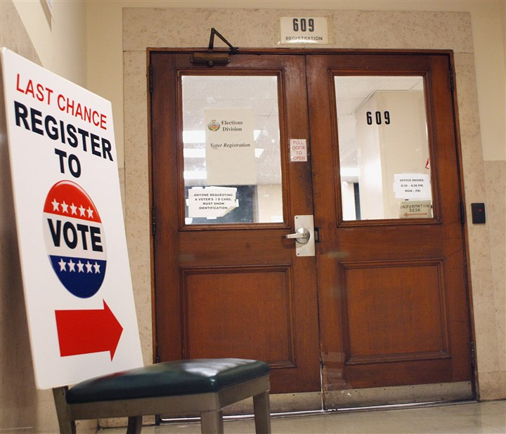 In Wake Of Lawsuit, Voter Registrations Up At Pennsylvania