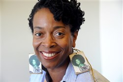 "Yona Harvey, an English professor who teaches poetry at the University of Pittsburgh, will lead the ""Writing Away the Stigma"" workshops."