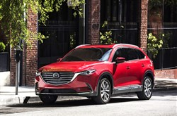 The outside changes for the 2016 Mazda CX-9 appear minimal.