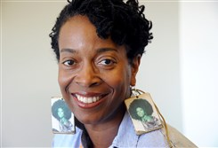 Yona Harvey, a professor who teaches poetry at the University of Pittsburgh, has been honored with the Carol R. Brown Established Artist Award for 2016.