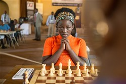 "Madina Nalwanga is Phiona Mutesi in Disney's ""queen of Katwe.""  The film will be screened in several city parks at dusk.  Admission is free."