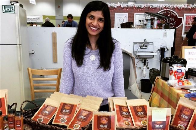 Priya Osuri, owner of Anar Gourmet Foods.
