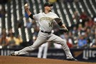 Ryan Vogelsong delivers a pitch against the Brewers Sept. 22 in Milwaukee.