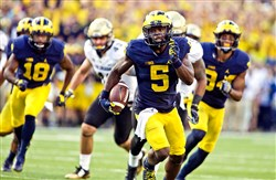 Penn State might have its hands full trying to contain Michigan's Jabrill Peppers.