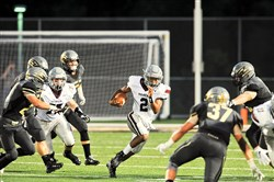 Beaver Area quarterback Darius Wise racked up 494 yards of offense Friday against Keystone Oaks.