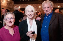"Druid Theatre founders, from left, Garry Hynes, Marie Mullen and Mick Lally. Director Hynes and actress Mullen reunite for the tour of ""The Queen of Leenane,"" coming to the August Wilson Center March 2-4, 2017."