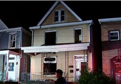 No injuries were reported in the blaze at about 2:30 a.m. today in the 100 block of Bausman Street, according to authorities.