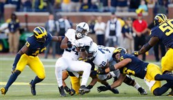 Penn State's resume might not be strong enough to get into the College Football Playoff after losses at Michigan and at Pitt.