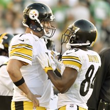 The Steelers' lopsided defeat to the Eagles served as a wake-up call for the offensive unit.