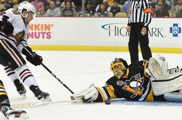 Penguins notebook: Fleury tracks his way to shutout in preseaso…
