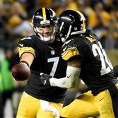 Le'Veon Bell complements a passing game that is led by Ben Roethlisberger and Antonio Brown.