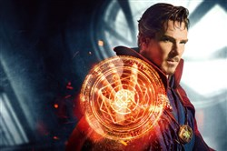Benedict Cumberbatch in Doctor Strange, set for release on Nov. 4.