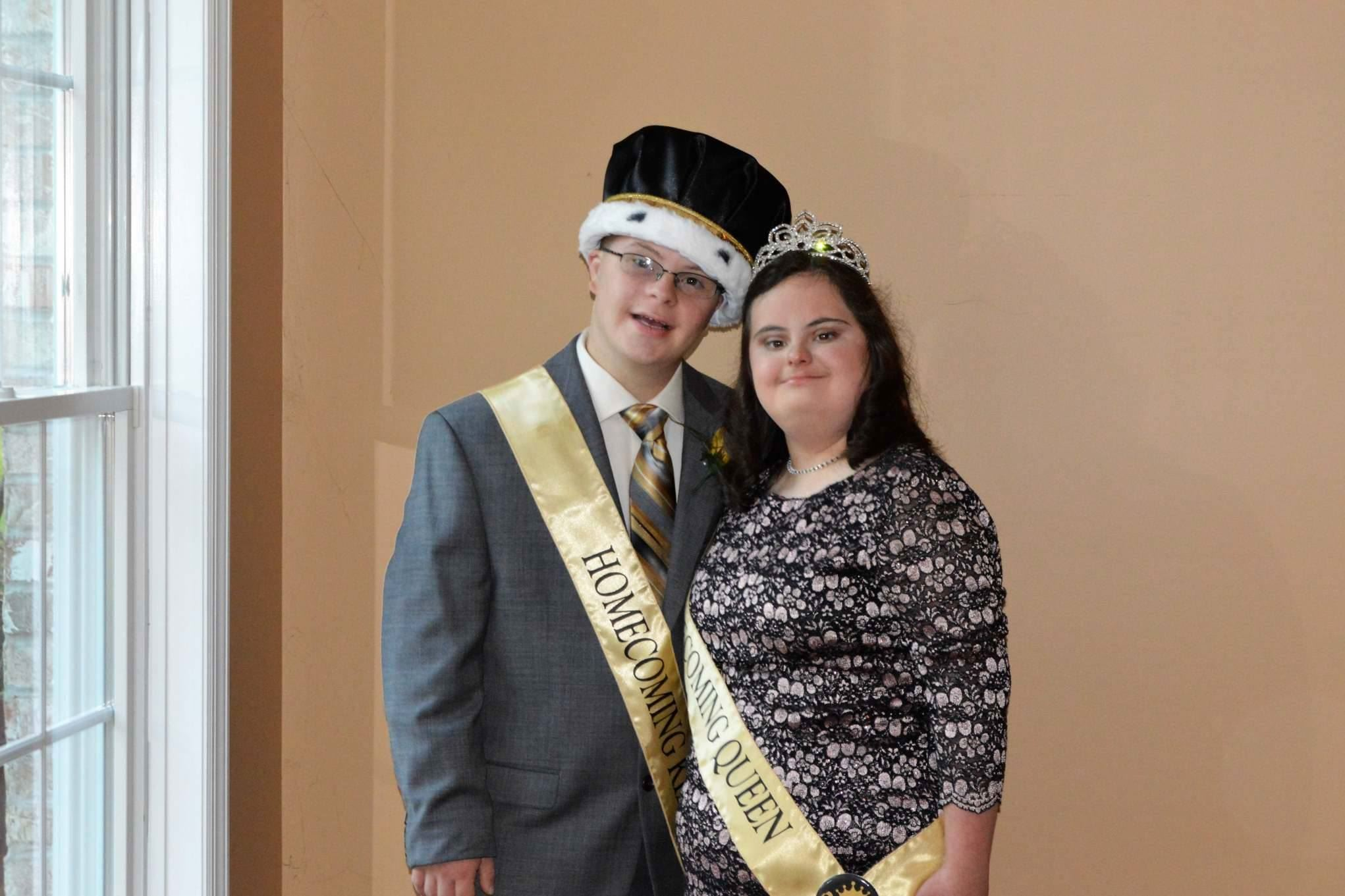 North Allegheny students embrace homecoming queen king