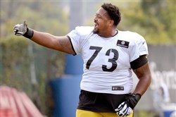 Ramon Foster is one of the Steelers' five returning starters on the offensive line.