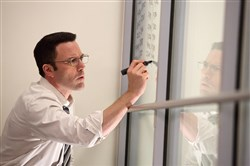 "Ben Affleck as Christian Wolff in ""The Accountant."""