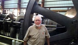 Paul Harvey,72, founded and helps operating the Coolspring Power Museum in Jefferson County, that features 300 internal combustion engines from the gas and oil industry.