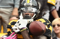 Sammie Coates is listed as questionable for Sunday's game.
