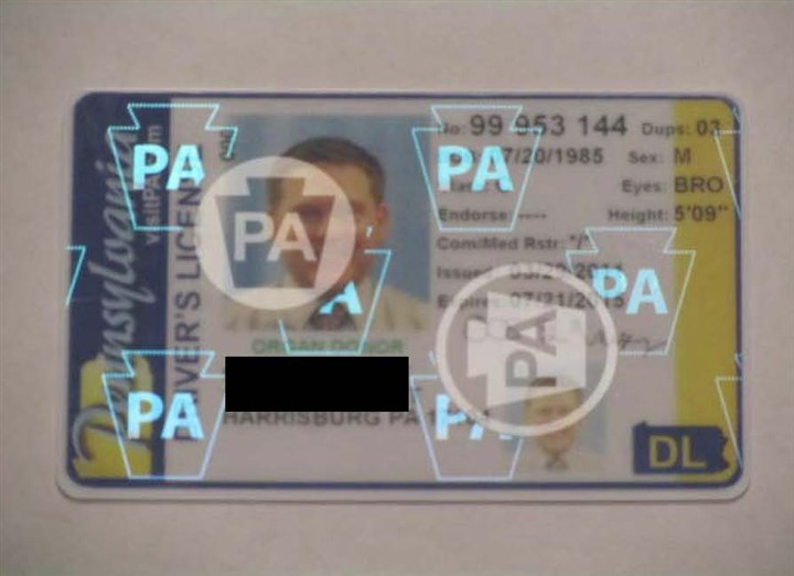 PA driver license Beginning Jan. 30, Pennsylvania residents won't be able to use their driver's license to enter federal facilities.