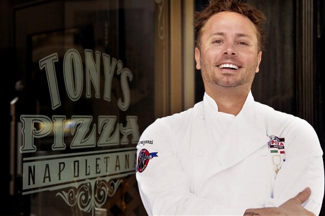 "Tony Gemignani, author of ""The Pizza Bible."""