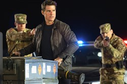 "Tom Cruise turns up in Washington, D.C., and New Orleans in ""Jack Reacher: Never Go Back."""