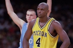 Chris Webber helped lead Michigan to a Final Four, but he didn't make Joe Starkey's final four favorite people named Chris.