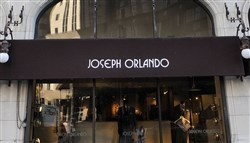 Joseph Orlando Gentlemen's Clothier has been located at 606 Liberty Ave., Downtown, for nearly 37 years. It will move to the Carlyle building at Fourth Avenue and Wood Street, Downtown, in early April.