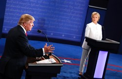 Hillary Clinton and Donald Trump outlined starkly different visions for the Supreme Court under their potential presidencies in Wednesday night's final debate.