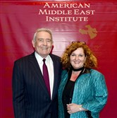 Dan Rather and Simin Curtis.
