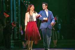 "Laura Osnes and Corey Cott will reprise their roles in ""Bandstand,"" which originated at Paper Mill Playhouse in New Jersey and heads to Broadway in the spring of 2017."