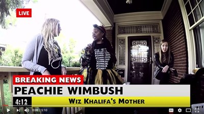 Rapper Kellee Maize, Peachie Wimbush team up to target Trump