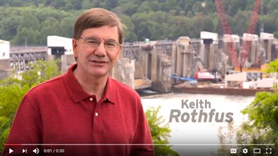 Rothfus paints rosy picture in new campaign ad
