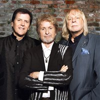 ARW: Trevor Rabin, Jon Anderson and Rick Wakeman, all formerly of Yes.